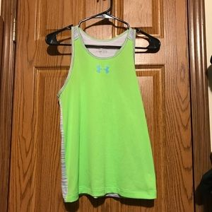 Youth Girls Athletic Tank Top (UA)